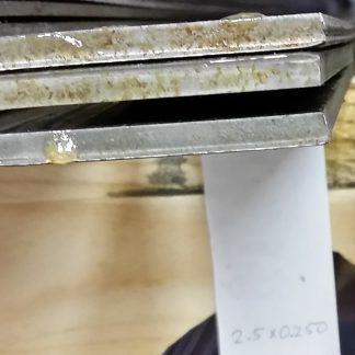 2.5 inch x 0.250