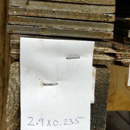 2.9 inch x 0.235